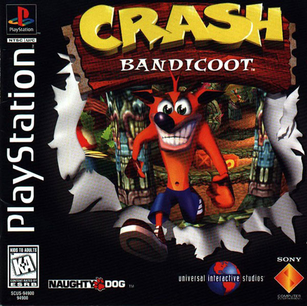 Crash Bandicoot [U] Front Cover